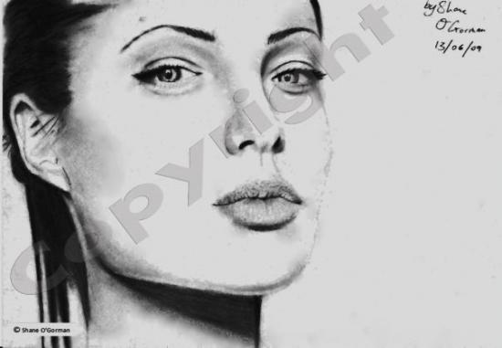 Angelina Jolie by scarshane